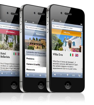 Come si vede il tuo sito sull 39 iphone caprionline siti for Sito mobili online